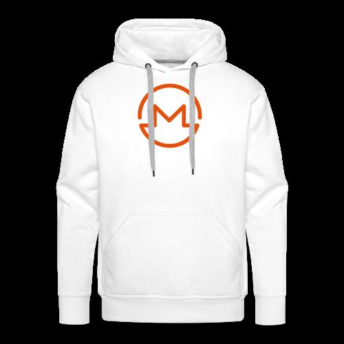 Monero Modern Logo - Mannen Premium hoodie
