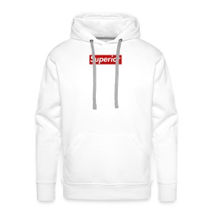 Superior Classic Box Logo Design - Men's Premium Hoodie