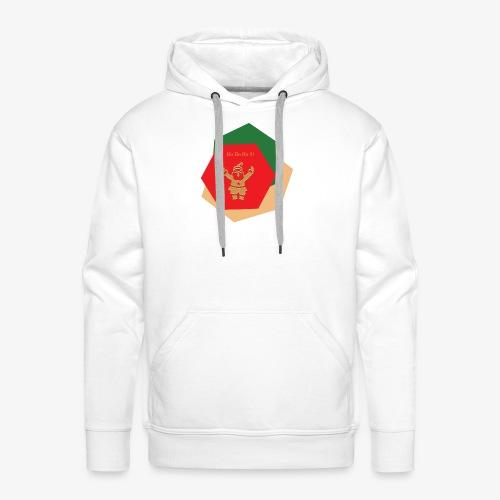 pere Noel Ho ho ho! - Sweat-shirt à capuche Premium pour hommes