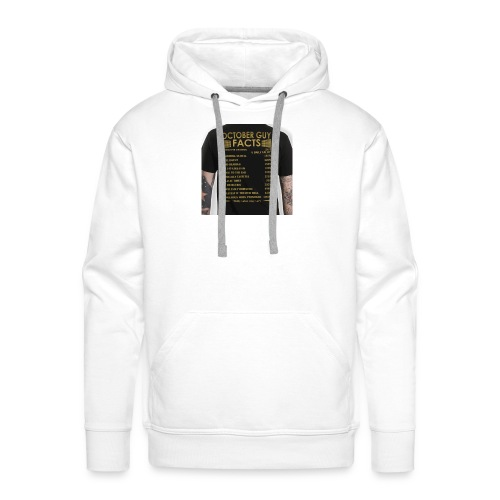 october gyu facts - Men's Premium Hoodie