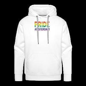 Pride Amsterdam in regenboog kleur - Mannen Premium hoodie