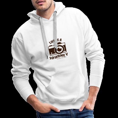 Life is a Journey - Männer Premium Hoodie