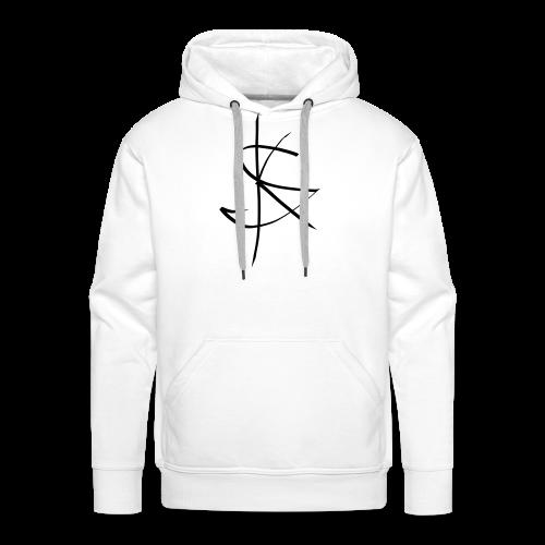 Sprücheklopfer - Logo - Männer Premium Hoodie