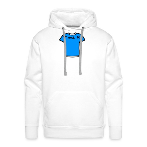 T and R - Mannen Premium hoodie