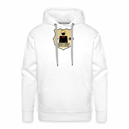 Nerd Quiz Logo - Männer Premium Hoodie