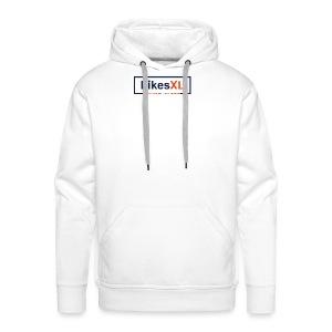 LikesXL 2017 transparent - Men's Premium Hoodie