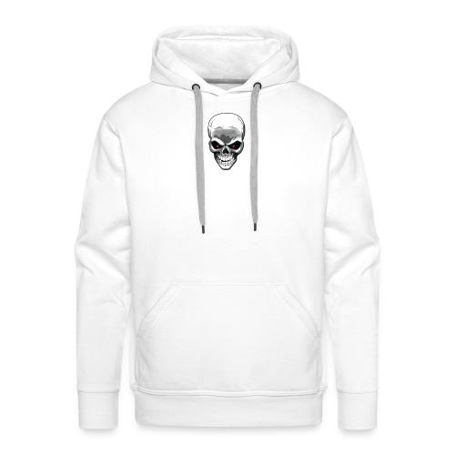 Skull logo - Men's Premium Hoodie