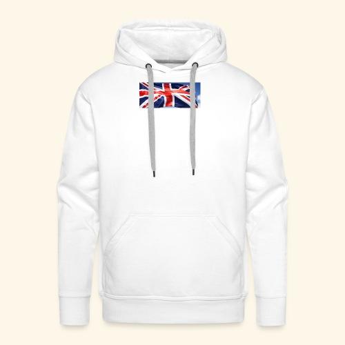 UK flag - Men's Premium Hoodie