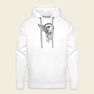 Kolibri-Uhr - Männer Premium Hoodie