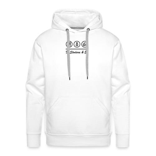 Transparent Bildschrift - Männer Premium Hoodie