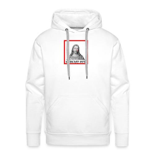 Crucify God | Sad Jesus - Miesten premium-huppari