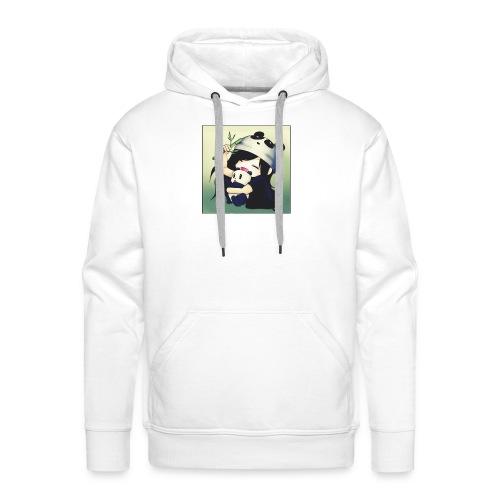 PandaMeli - Männer Premium Hoodie