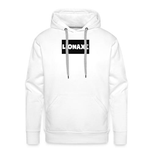 lionaxelogo - Men's Premium Hoodie