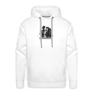 horse2 - Bluza męska Premium z kapturem