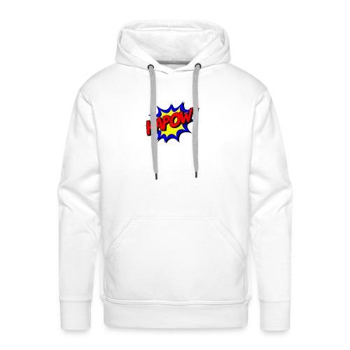 Kapow - Sweat-shirt à capuche Premium pour hommes