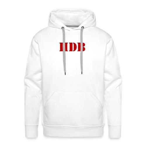 HDB t-shirt - Mannen Premium hoodie