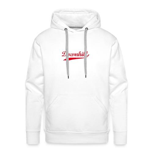 DHDLX Baseball Logo Rot Neu - Männer Premium Hoodie