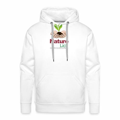 Nature'lich - Sweat-shirt à capuche Premium pour hommes