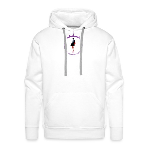 Paris Fashion Design 2 - Sweat-shirt à capuche Premium pour hommes