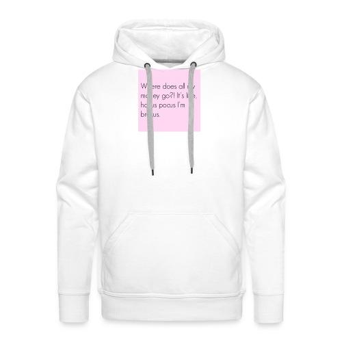 Vrouwen shirt - Mannen Premium hoodie