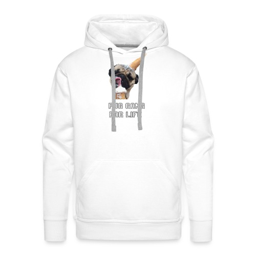 Pug Gang For Life. - Men's Premium Hoodie