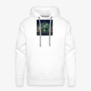 VA Breathing Earth cover front - Men's Premium Hoodie