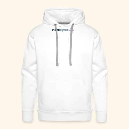 netbyte.dk logo - Herre Premium hættetrøje