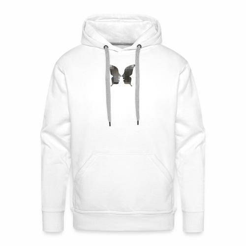 Schmetterlingsgesicht - Männer Premium Hoodie