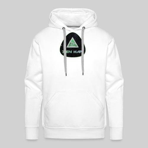 Zen Hap Triangle Hi Res - Men's Premium Hoodie