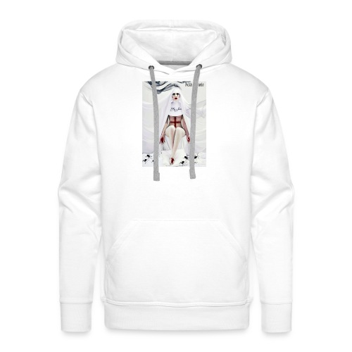 Faith In Music White - Sweat-shirt à capuche Premium pour hommes