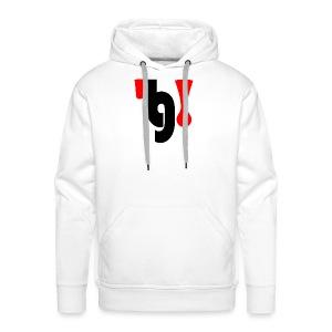 logo_klein - Mannen Premium hoodie