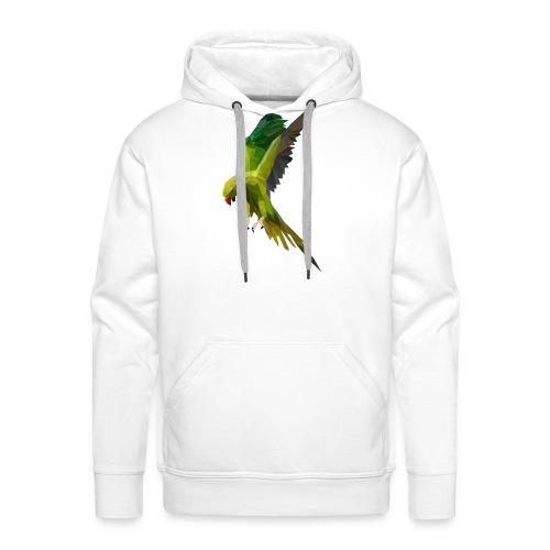 PERROQUET - MINIMALISTE - Sweat-shirt à capuche Premium pour hommes