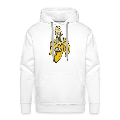 sliced banana - Mannen Premium hoodie