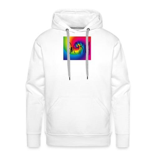 Swakua Logo Rainbow - Miesten premium-huppari