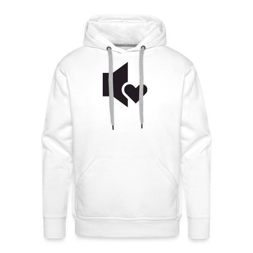 Love Sound - Sweat-shirt à capuche Premium pour hommes