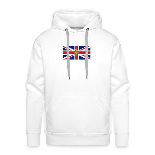 british flag including wales - Men's Premium Hoodie