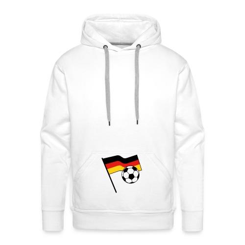 germany flag soccer - Männer Premium Hoodie