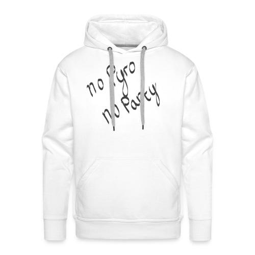 nopyronoparty - Männer Premium Hoodie