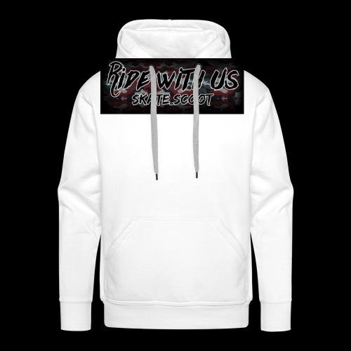red camo - Mannen Premium hoodie