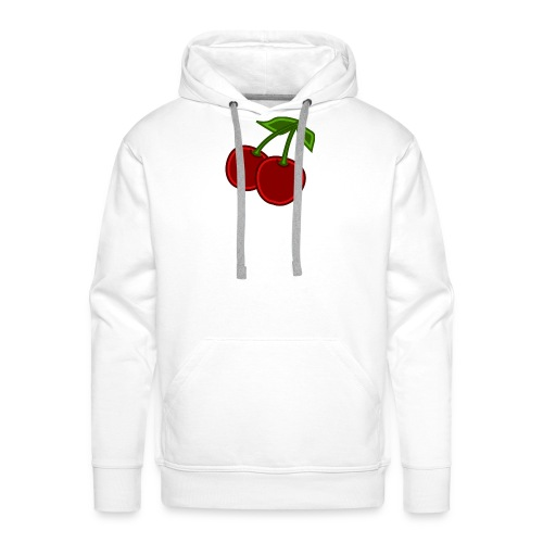 cherry - Bluza męska Premium z kapturem
