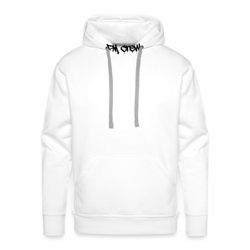 PM Crew - Sweat-shirt à capuche Premium pour hommes