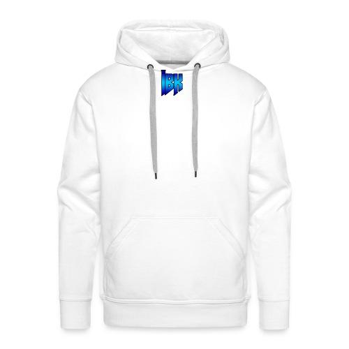 T-SHIRT MET LOGO OP - Mannen Premium hoodie