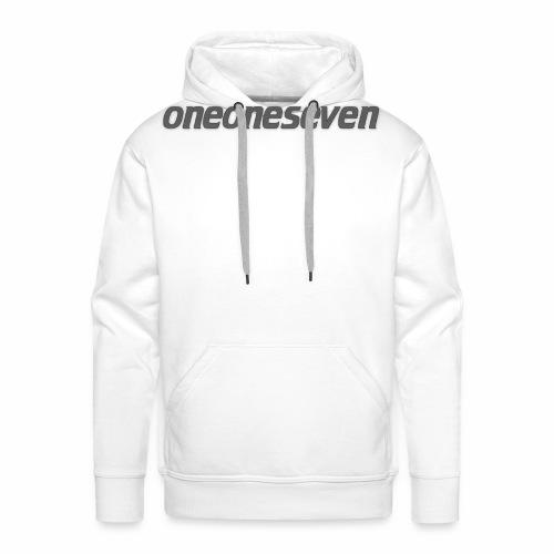 oneoneseven v1 - Männer Premium Hoodie