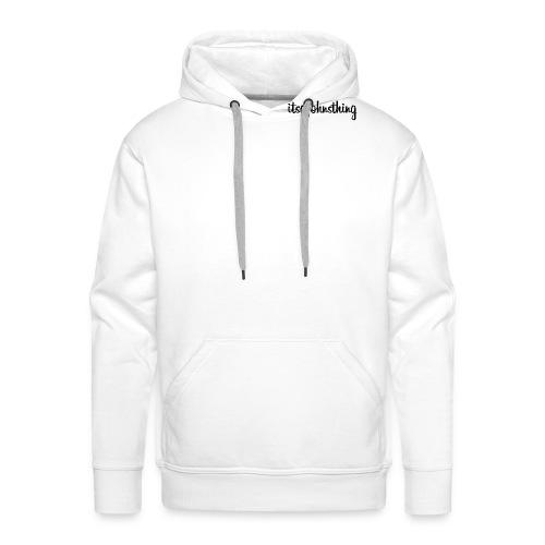 Itsajohnsthing s. - Men's Premium Hoodie