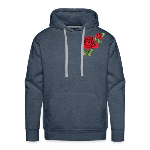 Red Roses - Mannen Premium hoodie