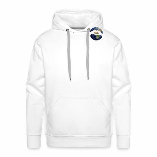 Zu zweit um die Welt - Logo - Männer Premium Hoodie