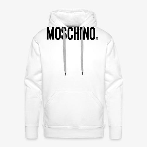 MOSCHINO - Sudadera con capucha premium para hombre