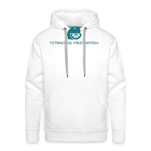 Coloured Tetracious Logo - Men's Premium Hoodie