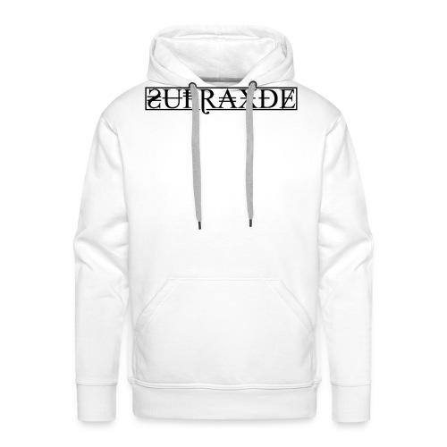 SupraxDE Logo Schwarz - Männer Premium Hoodie