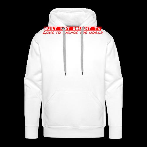 Original Logo rot - Männer Premium Hoodie